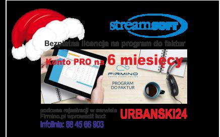 bezpłatna licencja na program fakturwy streamsoft